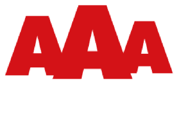 AAA Logo 2019 FI Transparent White
